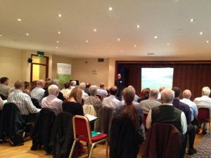 "West Harris Trust addresses delegates ""What you can do with the land once you own it is absolutely fundamental."""