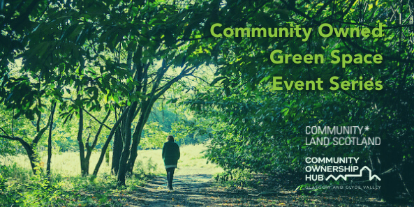 Green spaces event series banner